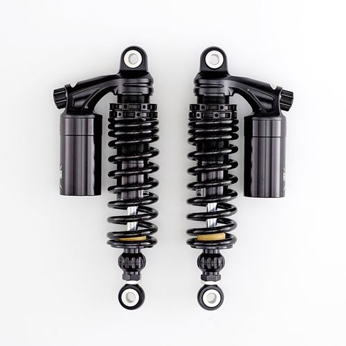 K-Tech Suspension Razor IV Rear Shocks Indian Scout Models 4-Way Adjustable Piggyback Gas Charged
