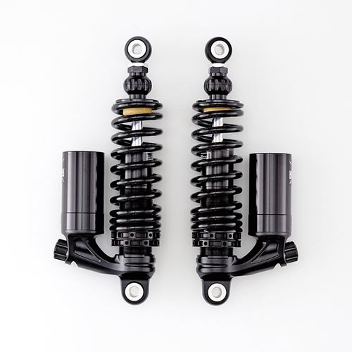 K-Tech Suspension Razor IV Rear Shocks Moto Guzzi V7 Models 4-Way Adjustable Piggyback Gas Charged