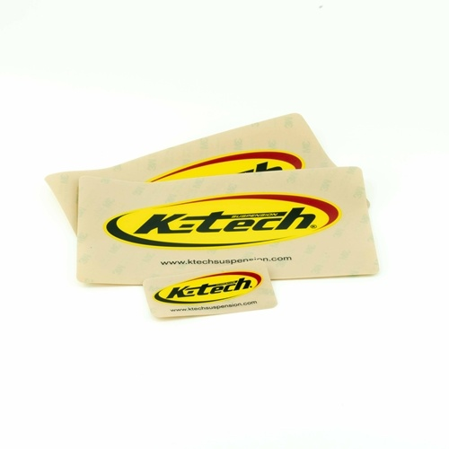 K-Tech Suspension Sticker Set - #STICKER-03 Front fork and shock sticker set