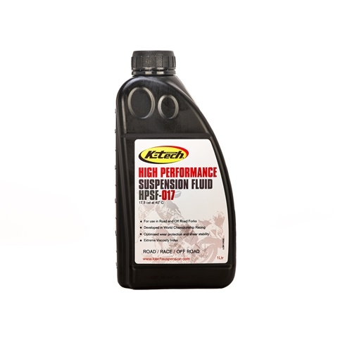 K-tech Suspension Suspension Fluid - #110-017-001 Front Fork Oil , 1 liter