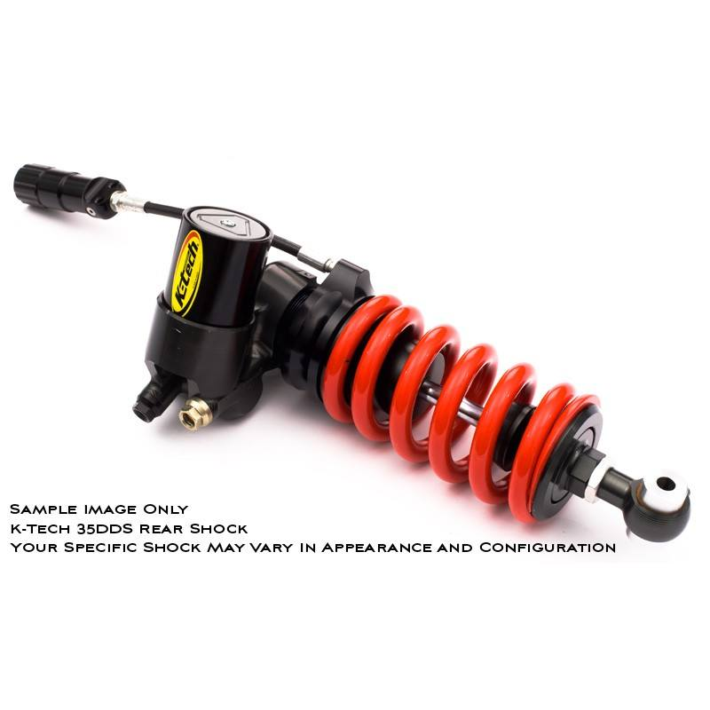 K-Tech Suspension 35DDS Pro Rear Shock MV Agusta F4 1000RR 2014 2016 Fully Adjustable With ByPass Valve