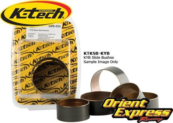 K-Tech Suspension Fork Slide Bushings KYB pair - #SBS-018 FF SLIDE BUSH** PAIR 43.70x30x1.00